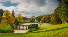Geoff Spriegel Stourhead in autumn